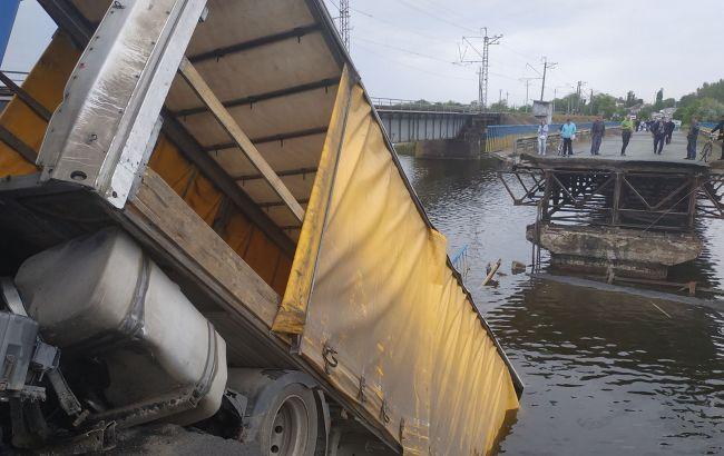 Обвал мосту під Дніпром: поліція відкрила три кримінальні справи