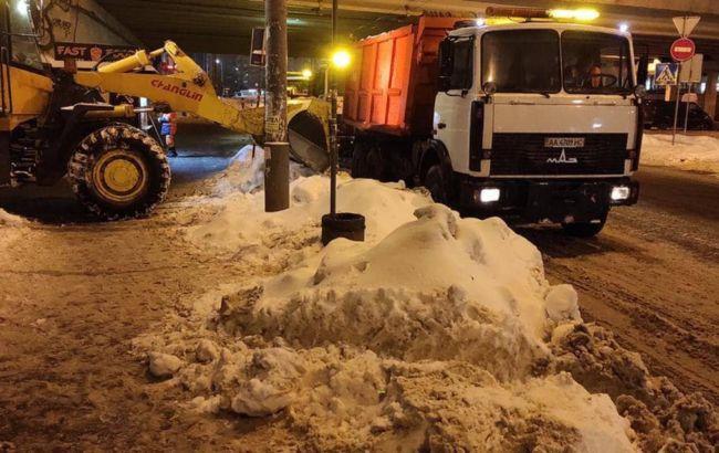 Снегопад в Киеве будет продолжаться без остановки до вечера субботы, - метеорологи