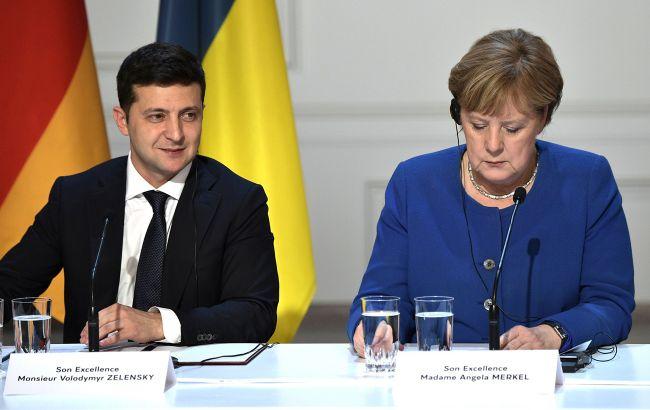 Газ и Донбасс. Чего ждать от переговоров Меркель и Зеленского