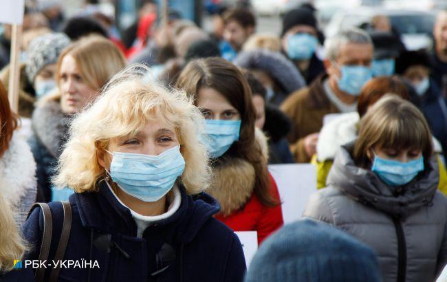 Експерти спрогнозували, коли епідемія COVID в Україні ослабне