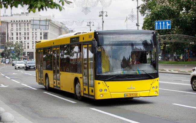 В Киеве вместо приостановленных трамваев запустят временные автобусы
