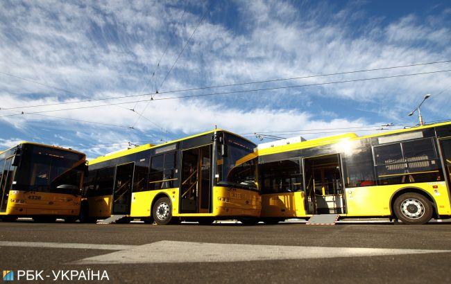 В Киеве 11 и 12 июня транспорт будет курсировать по-другому: схема движения