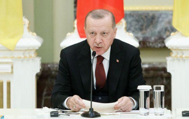Ердоган заявив, що вакцинація в Туреччині може завершитися в травні-червні