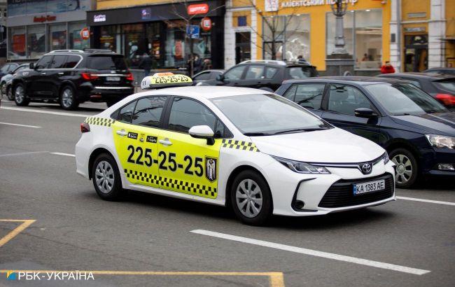 В Киеве резко выросли цены на такси
