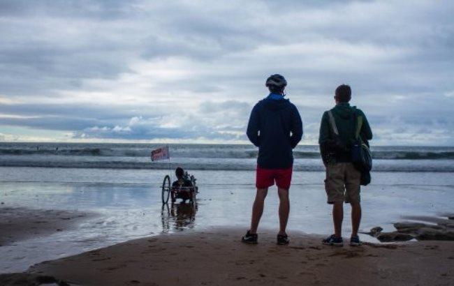 Фото:Трое друзей доехали до Португалии на велосипеде (zaxid.net)