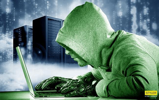 Фото: хакерська атака (колаж РБК-Україна)