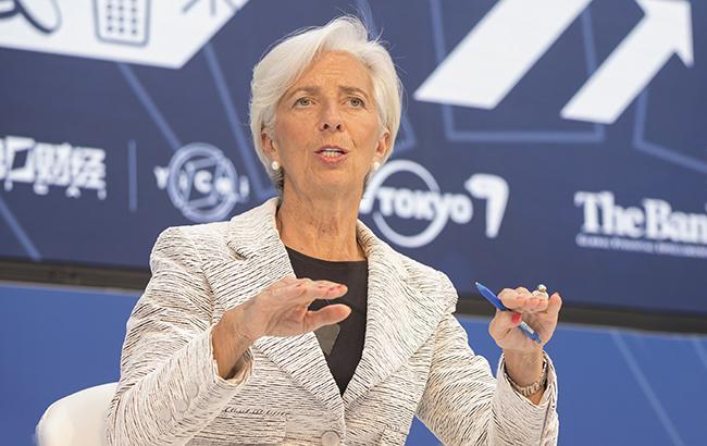 Лагард не вважає останні коливання на світових ринках приводом для занепокоєння