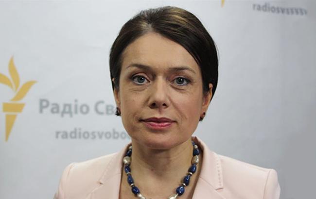 Фото: голова Міносвіти Лілія Гриневич