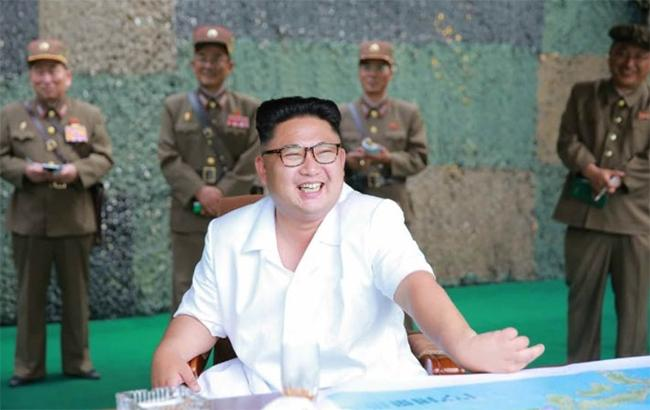 Фото: лідер КНДР Кім Чен Ин (twitter.com/kcna koreannews)