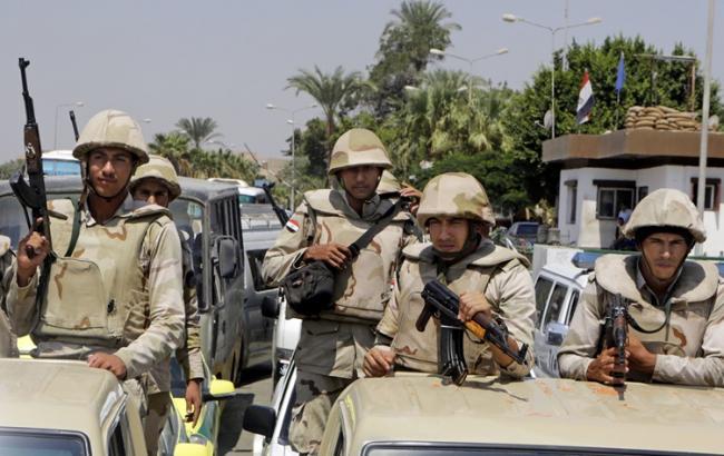 Фото: египетские военные