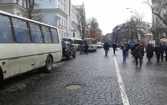 Фото: протесты в Киеве в пятницу утратили масштабность
