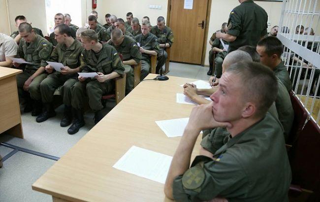 Фото: суд по делу столкновений под Радой (Виталий Носач, РБК-Украина)