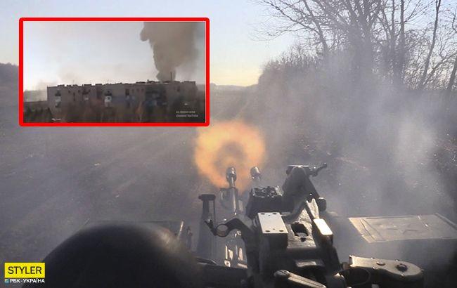 """В сети вспомнили жестокий бой за Дебальцево: появилось видео """"ада"""""""
