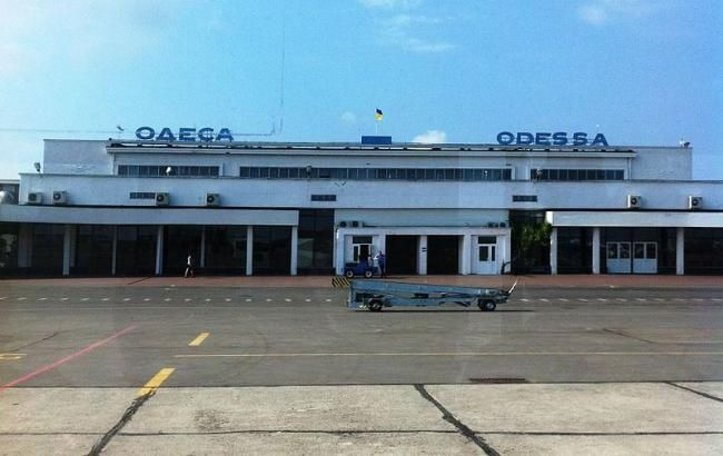 "Аэропорт ""Одесса"" приостановил работу"