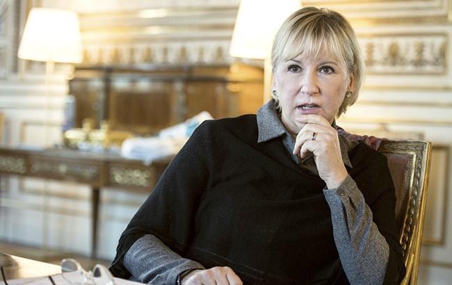 Глава МЗС Швеції закликає РФ звільнити Сенцова