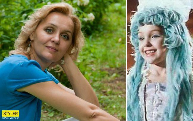 Исполнительница роли Мальвины умерла от рака: лучшие кадры из сказки с голубовласой девочкой