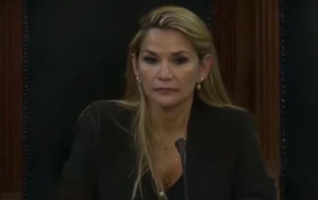 Жанін Аньєс стала тимчасовим президентом Болівії