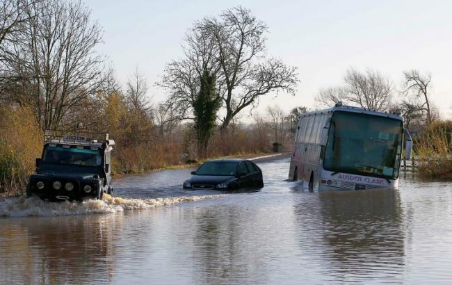 Фото: наводнение в Англии