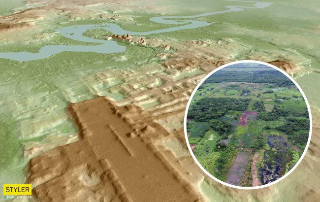 В Мексике нашли древнее сооружение майя длинной 1,4 км: удивились даже ученые