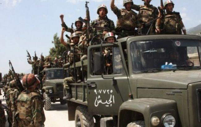 Сирійська армія взяла під контроль частину Пальміри