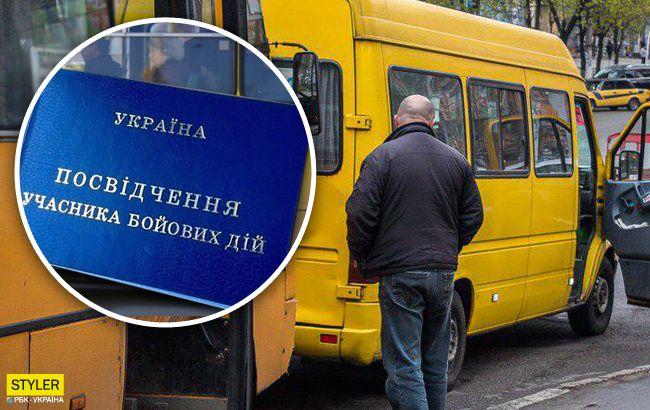 Отказал ветерану АТО с инвалидностью: в Днепре проучили маршрутчика-хама