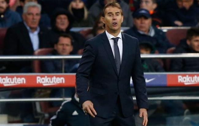 Тренер «Реала» Хулен Лопетегі попрощався згравцями команди