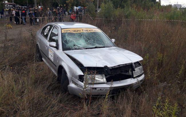У Черкасах під час гонки автомобіль збив глядача