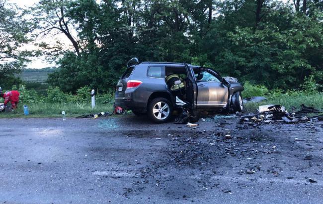 ВДТП возле Кропивницкого погибли два ребенка