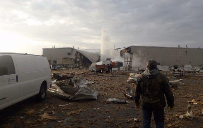 На авиазаводе в США произошел взрыв, есть пострадавшие