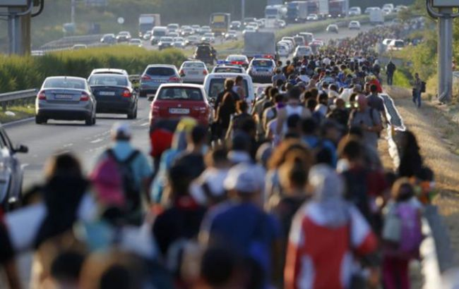 Фото: біженці