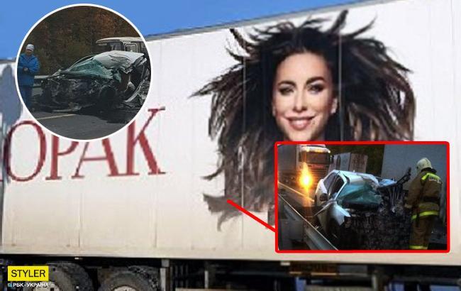 Автомобиль Ани Лорак попал в смертельное ДТП (фото, видео)