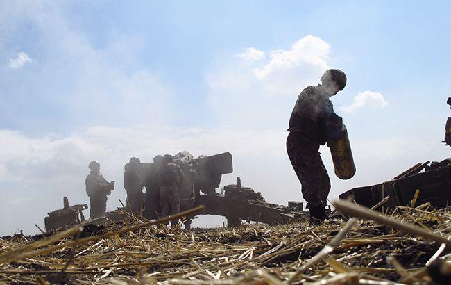 Боевики устроили провокацию около своих позиций, чтобы обвинить ВСУ, - штаб АТО