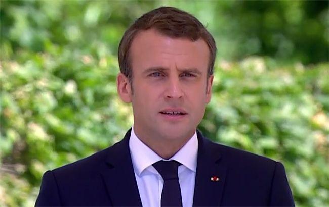 Фото: Президент Франции Эммануэль Макрон
