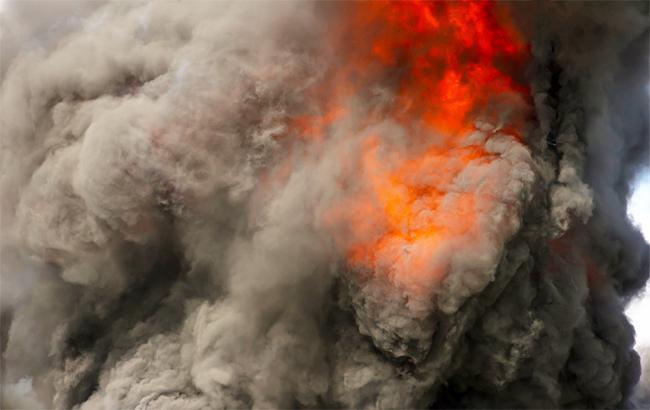 Пожар в Киеве локализован