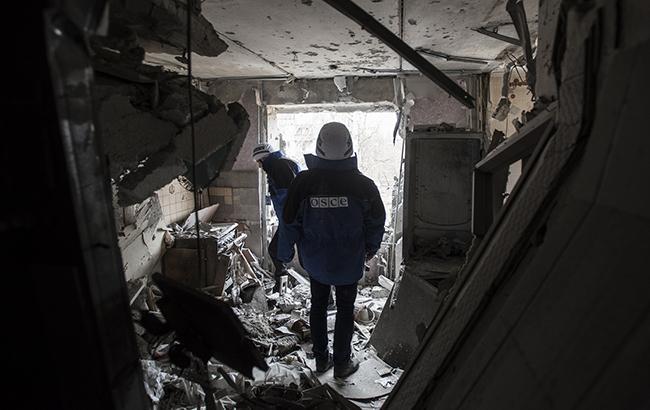 ОБСЄ зафіксувала 216 вибухів на Донбасі