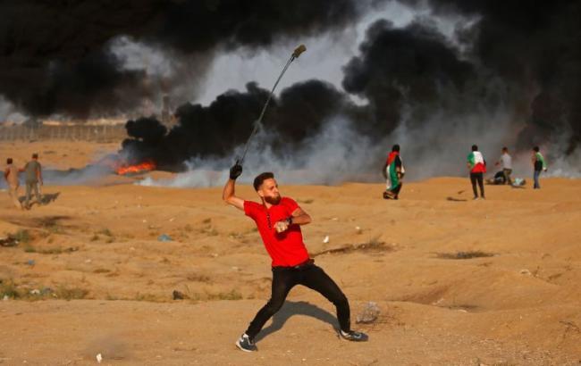 Фото: палестинець (AFP Photo/Said KHATIB)