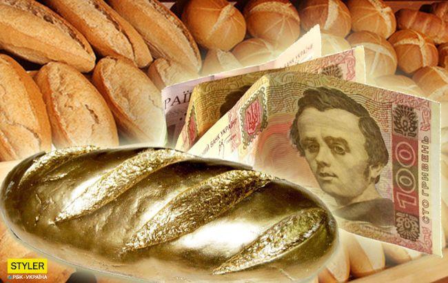 """Батон стає """"золотим"""": ціна на хліб в Україні стрімко зростає"""