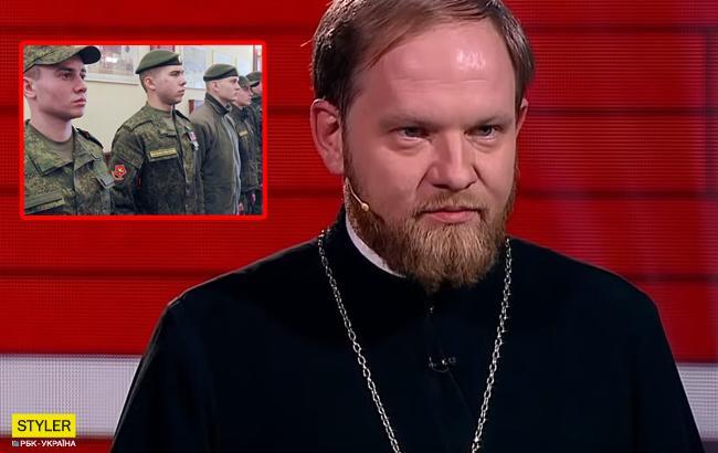 """""""Штирлиц спалился"""": подчиненный главы РПЦ продемонстрировал военный вышкол (видео)"""