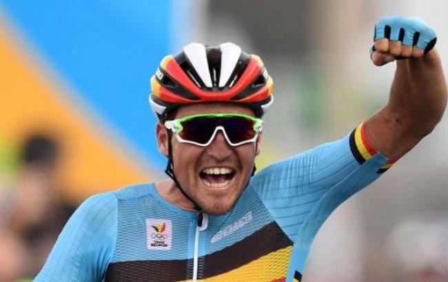 Фото: бельгийский велогонщик Грег ван Авермарт завоевал золото