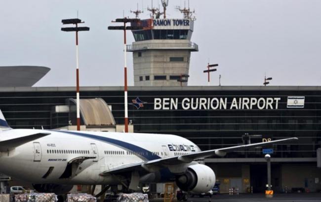 Фото: в Израиле запросил аварийную посадку самолет, следующий в Киев