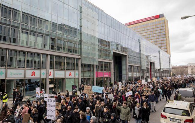 В Берлине состоялся марш против реформы авторского права