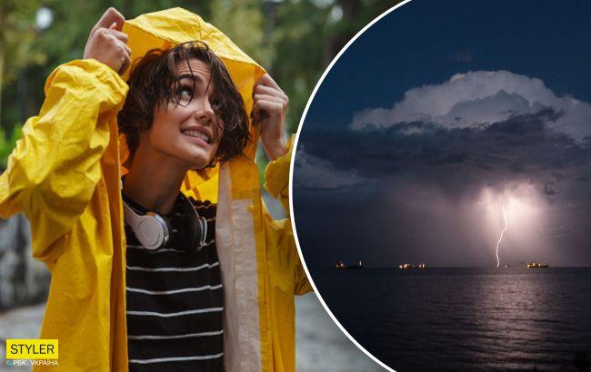 Потужний циклон принесе зливи і аномальний холод: які області під ударом