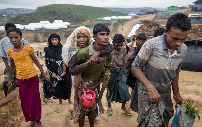 Фото: беженцы рохинджа (UNHCR)