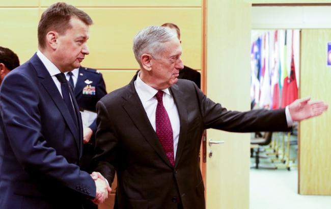 """Министры обороны США и Польши обсудили сдерживание """"региональной агрессии"""""""