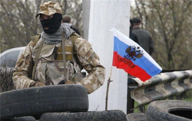Фото: российские боевики