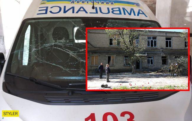 В больнице Красногоровки после обстрела умер пациент с COVID-19 (фото)