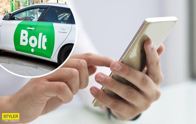"""Таксист Bolt цинично """"кинул"""" киевлянина на телефон: фото мошенника"""