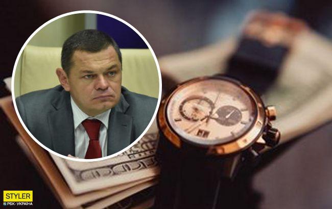 Нардеп засвітив у Раді елітний годинник: можна купити хороше авто