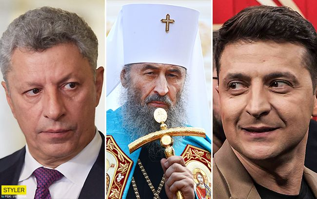 У РПЦ закликали Онуфрія домовлятися із Зеленським про призначення Бойка міністром культури