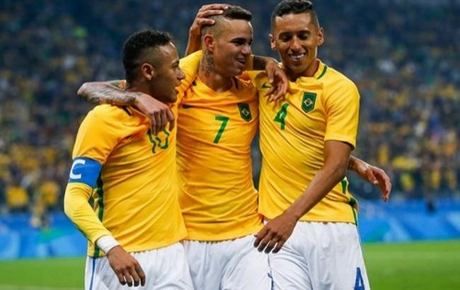 Фото: Бразилия стала золотым призером Олимпиады-2016 в Рио